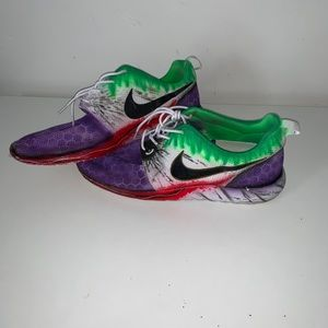 """The Joker"" Custom Nike Roshe"